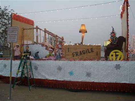 """Christmas Parade Float, """"a"""