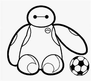 Baymax Hold The Ball | Robots Coloring Pages | Pinterest ...