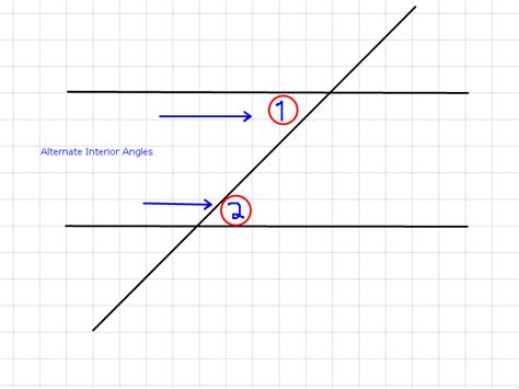 Mrwadeturner  Corresponding And Alternate Interior Angles