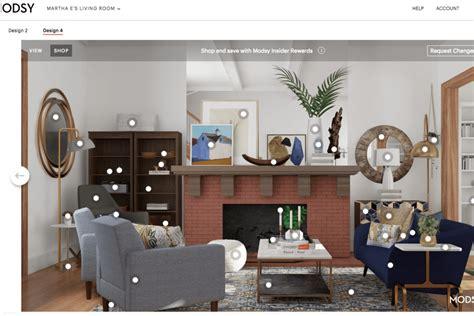 redesigned  awkward living room  modsys virtual
