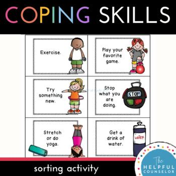 coping skills choices activity by the helpful 473 | original 1115527 4