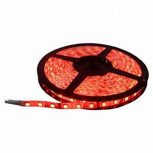 Ruban Led Rouge : ruban led rouge int rieur 480mw blanc ~ Edinachiropracticcenter.com Idées de Décoration