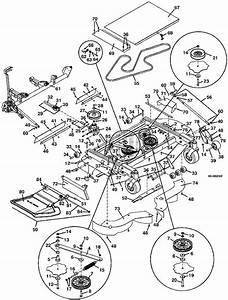 Grasshopper Parts Diagram 9861 Deck Mower Assembly 2002