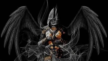 Angel Angels Warrior Demons Wallpapers Warriors Dark