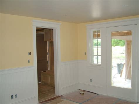 Wainscoting Height 2015