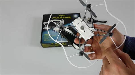 parrot minidron airborne cargo drone mars rozpakowanie unboxing konfiguracja test pl youtube
