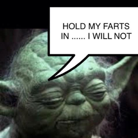 vh funny star wars yoda farts