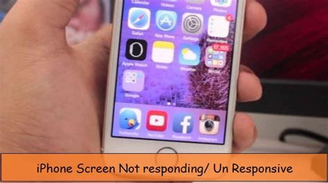 iphone screen not responding to touch iphone touch screen stop working ios 9 iphone 6 6s se