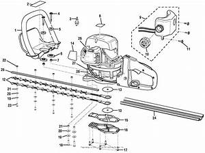 Homelite Ry39506 Hedge Trimmer Parts Diagram For Figure A