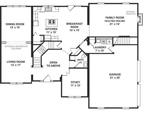 shore modular modular homes plans  story