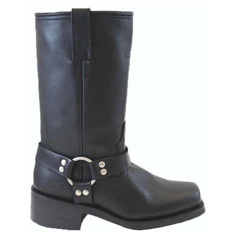 "Women's 12"" Ad Tec® Harness Biker Boots, Black - 303861"