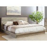 white washed modern rustic queen bed renewal rc willey