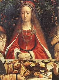 Image result for images medieval marriage at cana