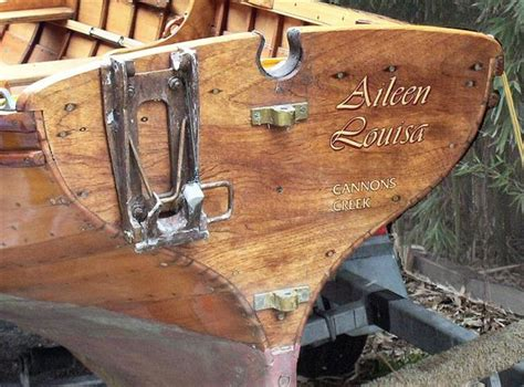 Sculling Boat Names by Scull Hole For Oughtred Dinghy
