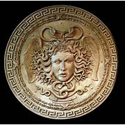 Athenas Shield Medusa