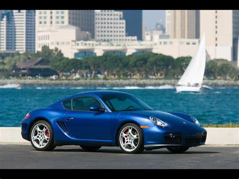 2007 Porsche Cayman S Side Angle City 1920x1440