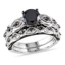 black wedding sets black wedding rings features