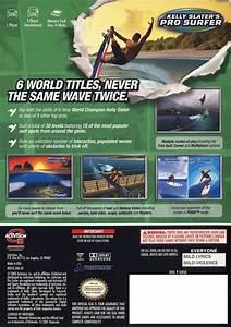 Kelly Slateru002639s Pro Surfer Box Shot For Gamecube Gamefaqs