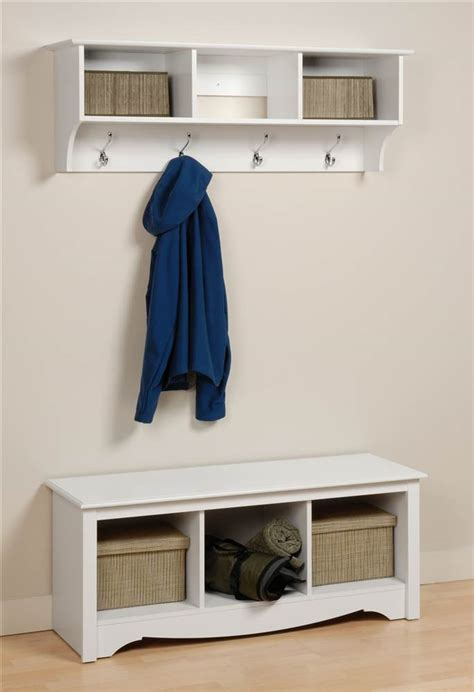 Foyer Shelves by Prepac Hanging Entryway Wall Shelf 36 Quot Wide Walmart
