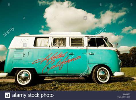 volkswagen van hippie blue vw cer van hippie bus t1 1960 s original turqouise