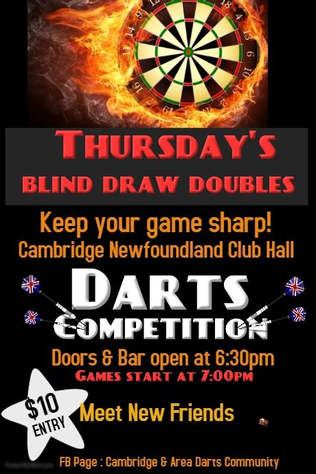local tournaments smurf darts