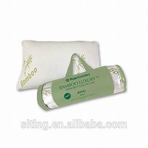miracle bamboo pillow deluxe queen king size 19quot x 30quot as With bamboo pillow king size price