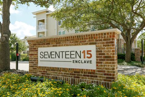 seventeen  enclave houston tx apartment finder