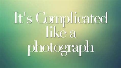 elizabeth gillies complicated lyrics complicated ft elizabeth gillies lyrics youtube