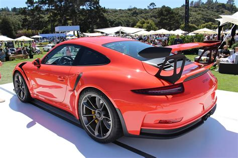 2016 Porsche 911 Gt3 Rs Surfaces At Pebble Beach During