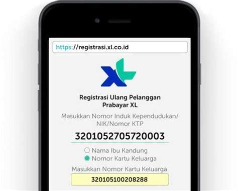 registrasi ulang kartu xl sepulsa