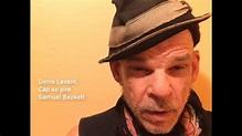 """Denis Lavant interprète un extrait de """"Cap au pire"""", de ..."""