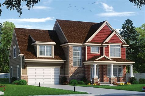 Traditional Style House Plan 4 Beds 2 5 Baths 2607 Sq/Ft