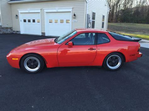 how make cars 1986 porsche 944 seat position control porsche 944 hatchback 1986 red for sale wp0aa0951gn152947 1986 porsche 944 turbo 83 400 miles