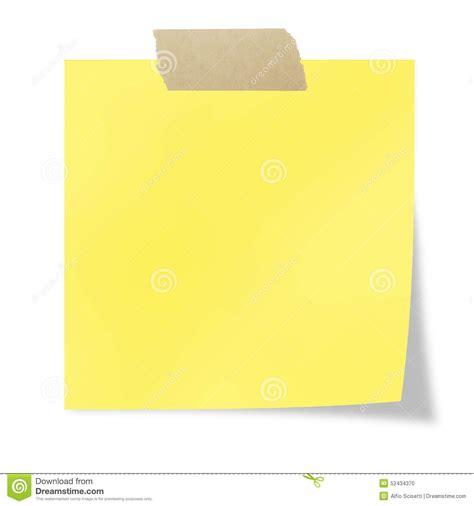 print memo pad post it stock photo image 52434370