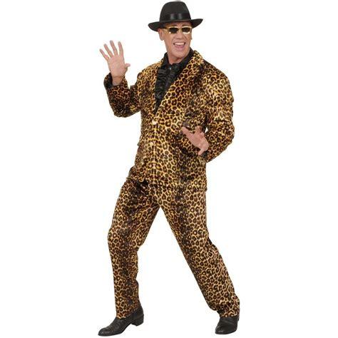 70er jahre style 70er jahre popstar anzug im leoparden style