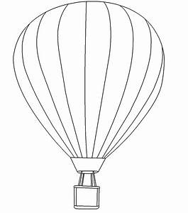 hot air balloon clipart coloring page pencil and in With hotairschematic