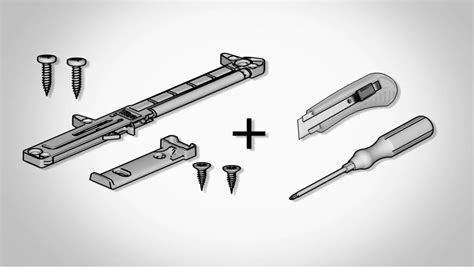 glissiere tiroir cuisine pose d 39 amortisseur de tiroir