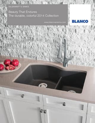 blanco granite kitchen sink blanco 2014 silgranit sink brochure by blanco issuu 4777