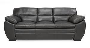 Sofa Beds On Sale Uk by Dfs New Force Black Leather 3 Seater Sofa