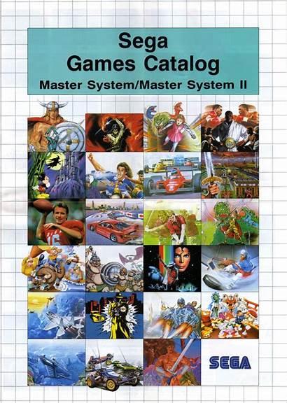 Sega Catalogue Games Scans Sms Europe Inside