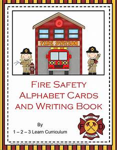 1 - 2 - 3 Learn Curriculum: Fire Safety Alphabet Cards and ...