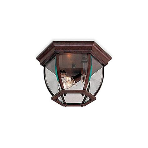 brown glass l shade buy minka lavery 3 light flush mount ceiling fixture in