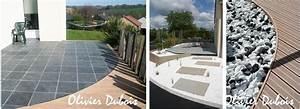 Matériaux Pour Terrasse : m lange bois composite et autres mat riaux ~ Edinachiropracticcenter.com Idées de Décoration