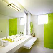 Minimalist Bathroom Interior Modern Minimalist Bathroom Interior Light Green Idea