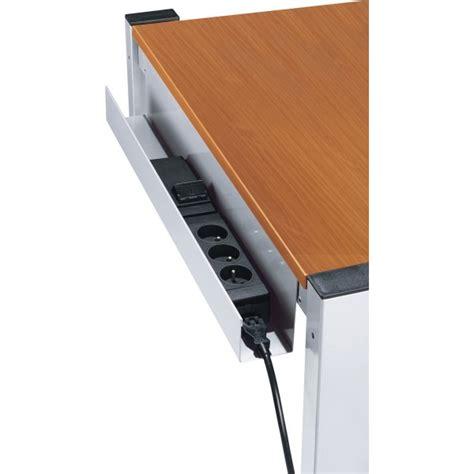 goulotte bureau boitier prises pour goulotte de mobilier de bureau h s