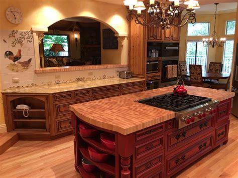 knotty alder kitchen feist cabinets  woodworks