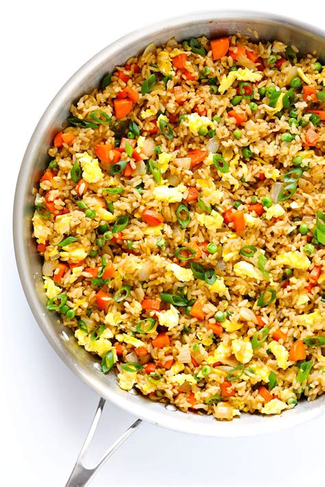 Any cooking method can be used with jollof rice recipe, just be attentive, and taste your. Fried Rice | Gimme Some Oven | Bloglovin'