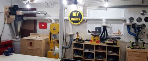 automatic dust collection    shop hackaday
