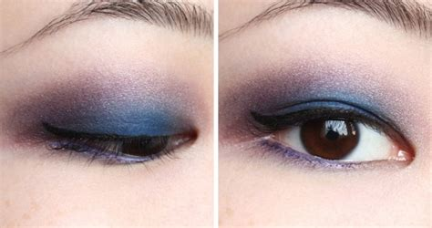 thenotice  smokey violet  blue fotd ft mac