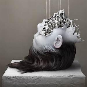 Hand Skulptur Selber Machen : artist yuichi ikehata s digitally manipulated images blur reality booooooom create ~ Frokenaadalensverden.com Haus und Dekorationen
